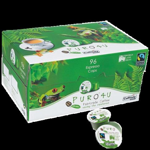CAPSULE CAFEA - PURO 4U FAIRTRADE - CAFFITALY