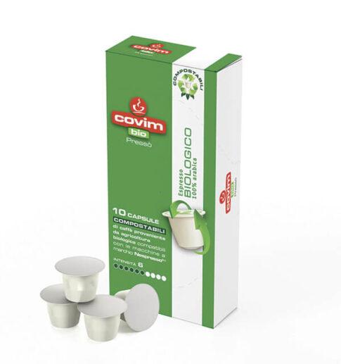 Cafea bio capsule_Covim Presso Biologico