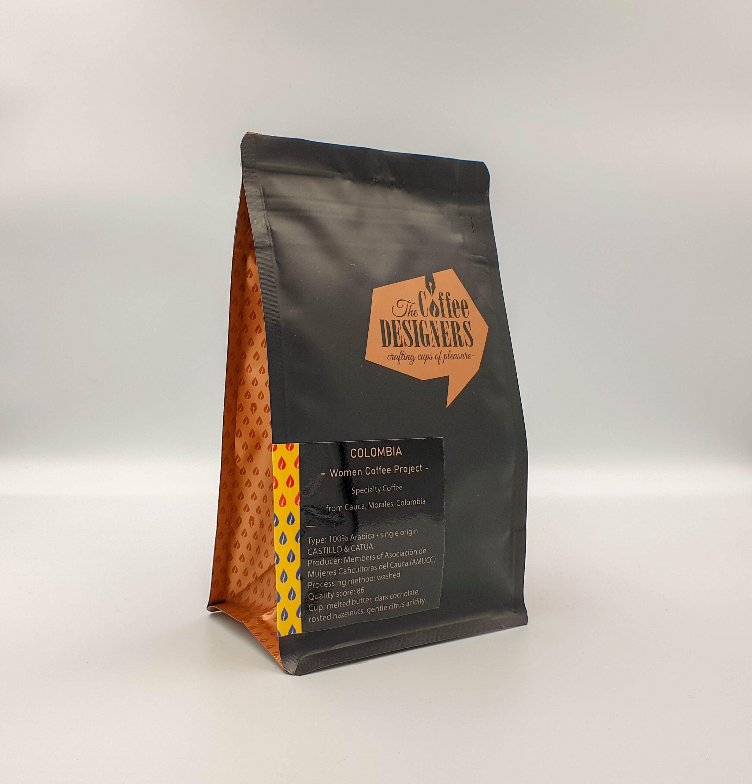 Cafea de specialitate Coffee Designers Colombia – Cauca - Women Coffee Project